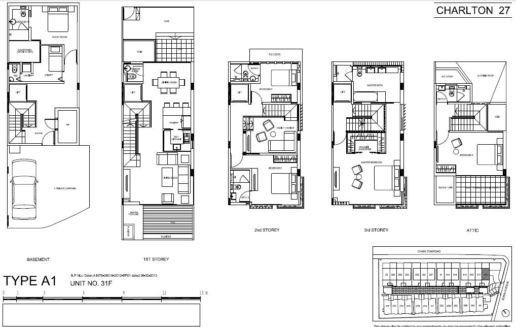 The Vales Floor Plans